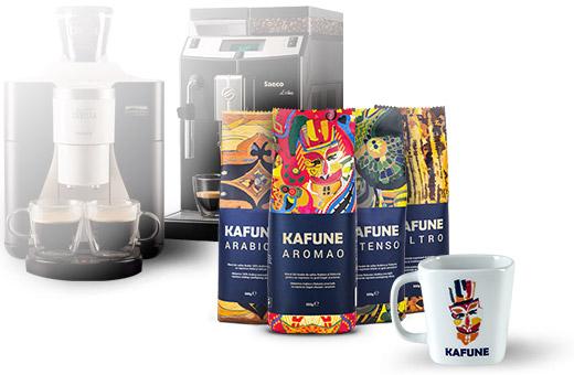 cafea boabe kafune arabica aromao intenso